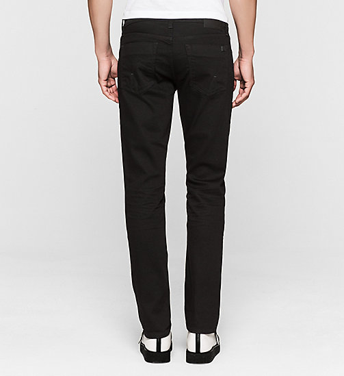 CKJEANS Slim Straight Jeans - NEW CORE BLACK RINSE COMFORT - CK JEANS Up to 50% - detail image 1