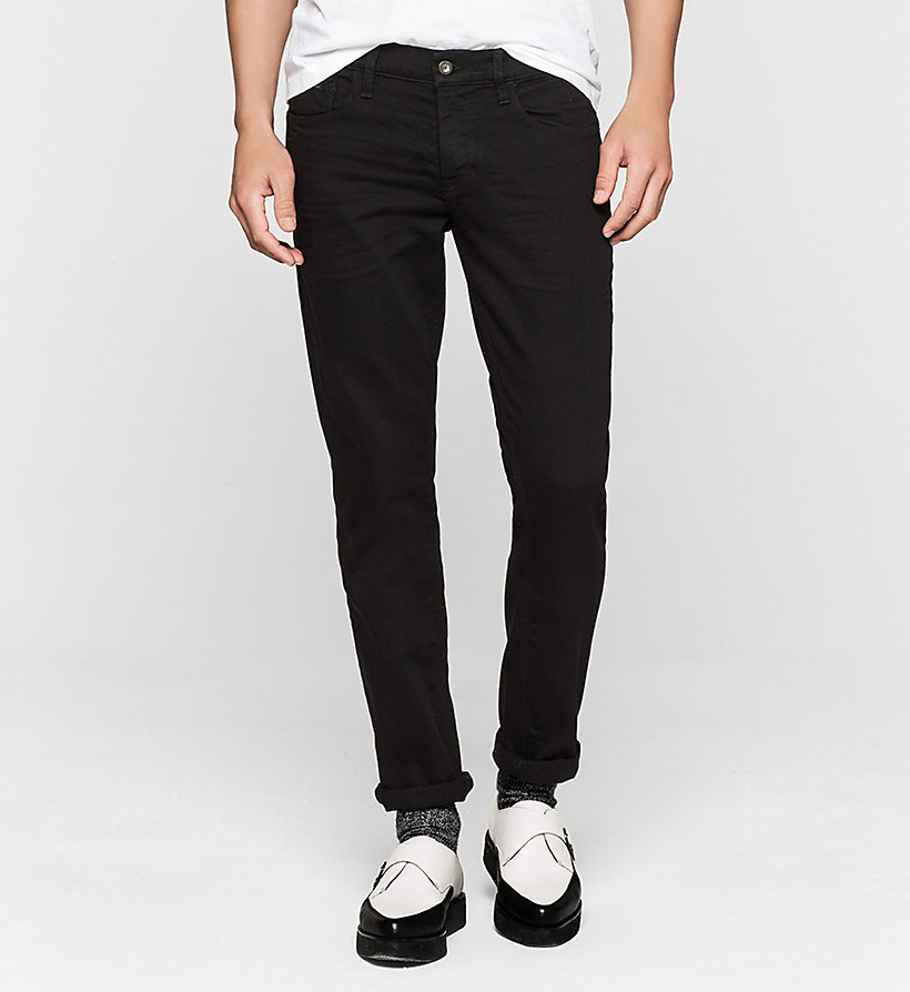CKJEANS Jean slim straight - NEW CORE BLACK RINSE COMFORT - CK JEANS JEANS - image principale