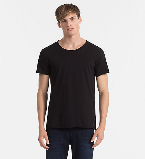 CKJEANS Regular Vintage Washed T-shirt - CK BLACK - CK JEANS T-SHIRTS - main image