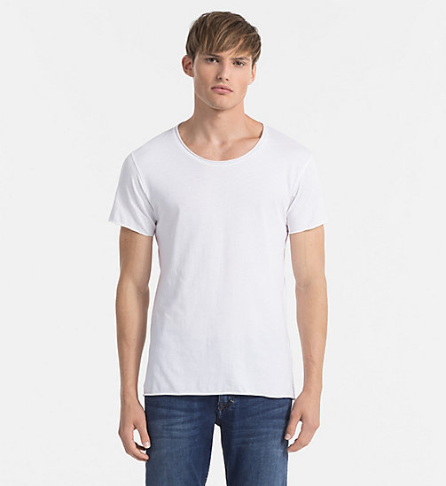 CKJEANS Regular Vintage Washed T-shirt - BRIGHT WHITE - CK JEANS T-SHIRTS - main image