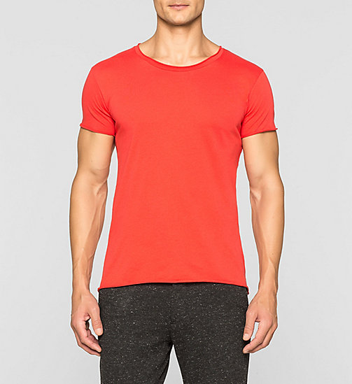 Vintage-Washed T-shirt - FIERY RED - CALVIN KLEIN JEANS  - main image