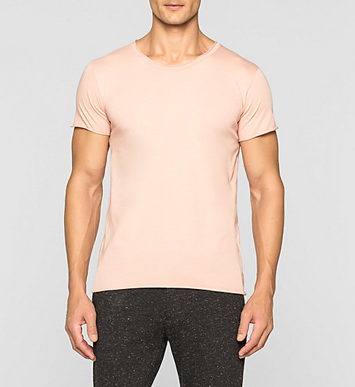 CKJEANS Regular Vintage Washed T-shirt - PEACH BEIGE - CK JEANS T-SHIRTS - main image