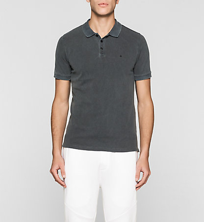 CALVIN KLEIN JEANS Fitted Cotton Piqué Polo J3EJ303426099