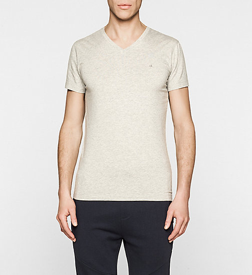 Regular T-shirt - LIGHT GREY HEATHER - CK JEANS T-SHIRTS - main image