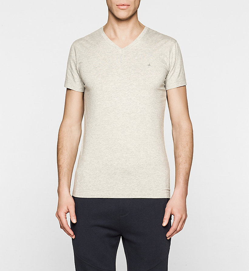 CKJEANS Regular T-shirt - LIGHT GREY HEATHER - CK JEANS T-SHIRTS - main image