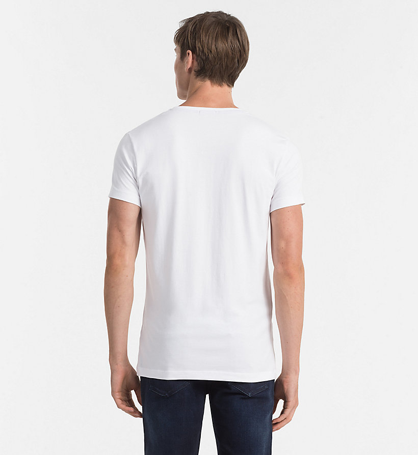 CKJEANS Regular T-shirt - BRIGHT WHITE - CK JEANS T-SHIRTS - detail image 2