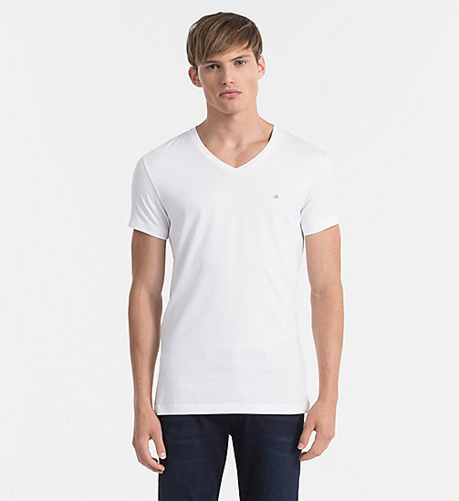 Regular T-shirt - BRIGHT WHITE - CK JEANS T-SHIRTS - main image