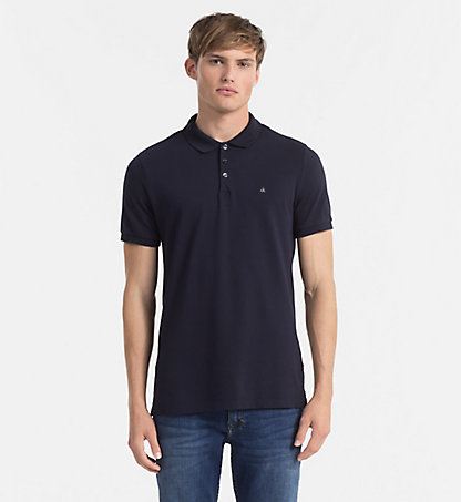 CALVIN KLEIN JEANS Cotton Piqué Polo - Paul J3EJ303832402