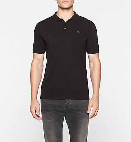 CALVIN KLEIN JEANS Cotton Piqué Polo - Paul J3EJ303832965