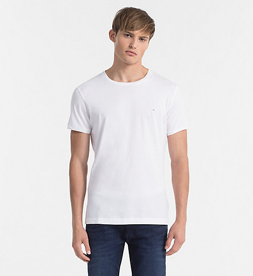 Camiseta regular - BRIGHT WHITE - CK JEANS CAMISETAS - imagen principal