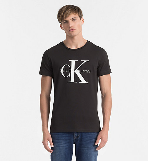 Regular Logo T-shirt - METEORITE - CK JEANS CLOTHES - main image