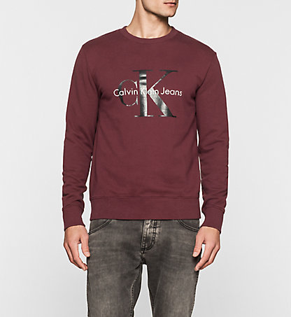 CALVIN KLEIN JEANS Sweat-shirt avec logo - True Icon J3IJ302252297