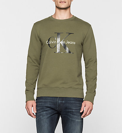 CALVIN KLEIN JEANS Sweat-shirt avec logo - True Icon J3IJ302252362