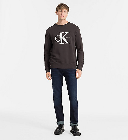 CKJEANS Logo Sweatshirt - METEORITE - CK JEANS GIFTS FOR HIM - detail image 1