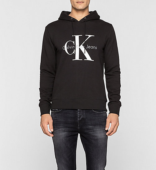 CALVIN KLEIN JEANS Logo Hoodie - METEORITE - CK JEANS CLOTHES - main image
