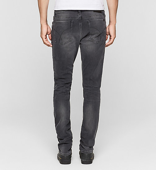 Slim Straight Jeans - BLACK SMOKE COMFORT - CK JEANS JEANS - detail image 1