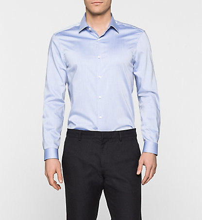 CALVIN KLEIN Fitted Dress Shirt - Walker K10K100002639