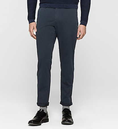 CALVIN KLEIN Fitted Chino Trousers - Parker K10K100011478