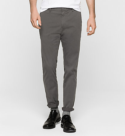 CALVIN KLEIN Fitted Chino Trousers - Parker K10K100011657
