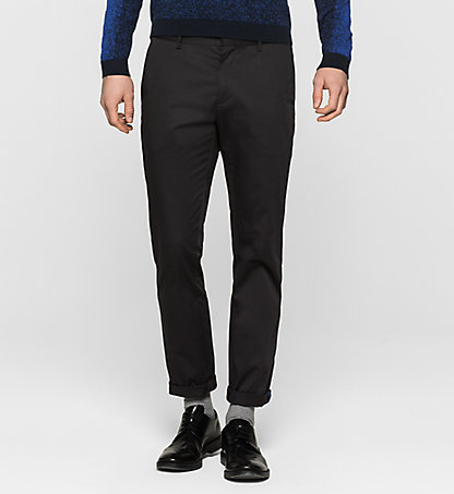 CALVIN KLEIN Slim Chino Trousers - Piper K10K100014013
