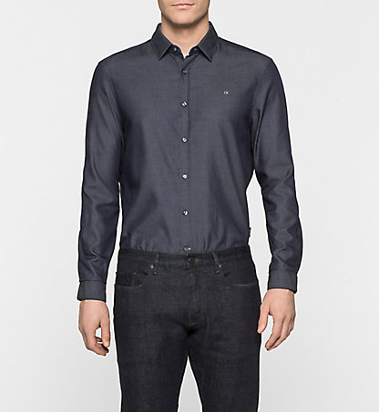 CALVIN KLEIN Fitted Shirt - Galen K10K100025634