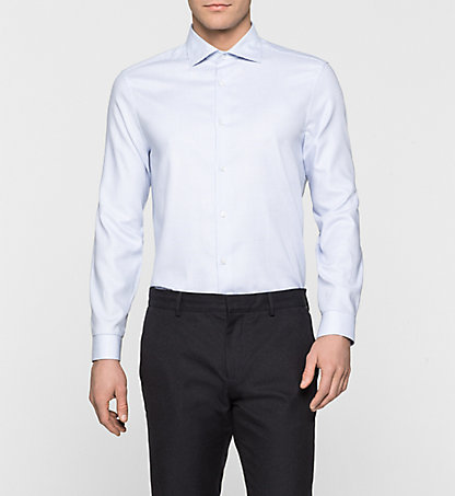 CALVIN KLEIN Fitted Dress Shirt - Warren K10K100027639