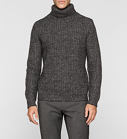 CALVIN KLEIN Wool Blend Sweater - Salton K10K100028657