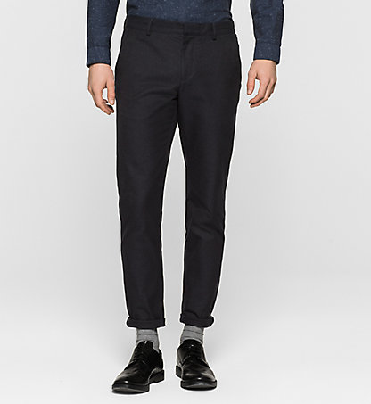 CALVIN KLEIN Fitted Chino Trousers - Parker K10K100039478