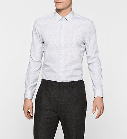 CALVIN KLEIN Fitted Dress Shirt - Wallace K10K100065105