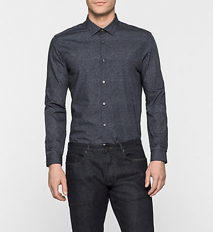 CALVIN KLEIN Fitted Dress Shirt - Wallace K10K100065478