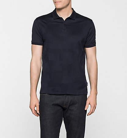 CALVIN KLEIN Fitted Polo - Jaru K10K100247478