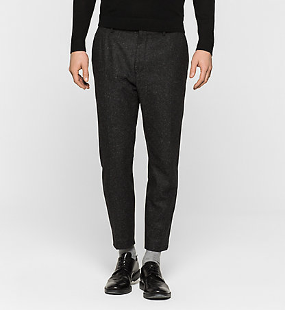 CALVIN KLEIN Wool/Silk Blend Trousers - Pavel K10K100251013