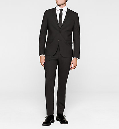 CALVIN KLEIN Fitted Wool Blend Suit - Talo K10K100261013