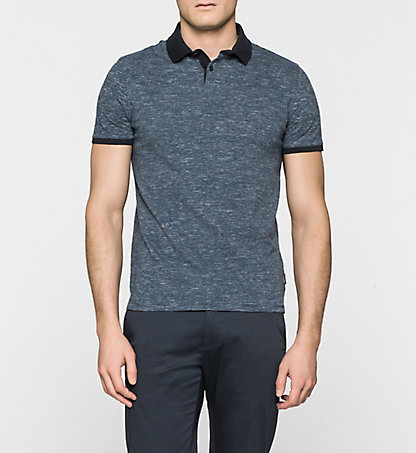 CALVIN KLEIN Fitted Polo - Javen K10K100285478