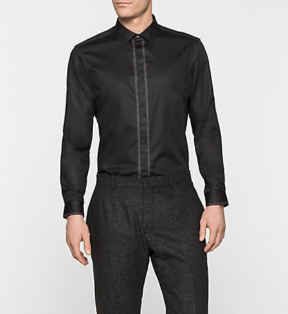 CALVIN KLEIN Fitted Dress Shirt - Wallace K10K100385013