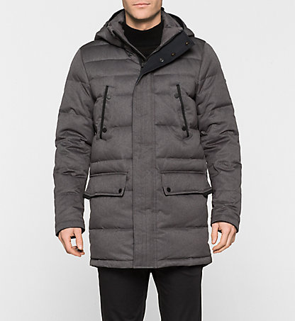 CALVIN KLEIN Hooded Field Jacket - Oves K10K100443033