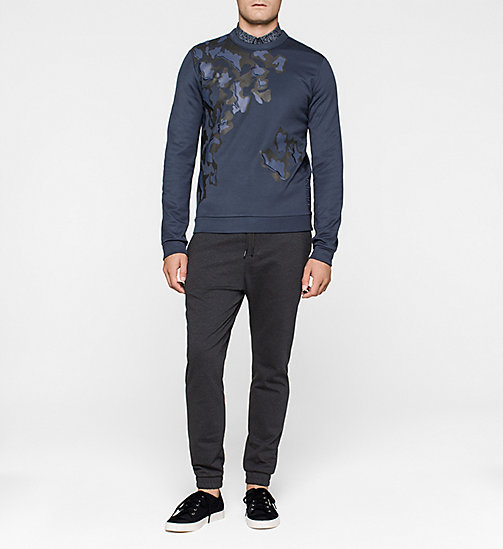 Printed Sweatshirt - MIDNIGHT NAVY - CALVIN KLEIN UNDERWEAR - detail image 1