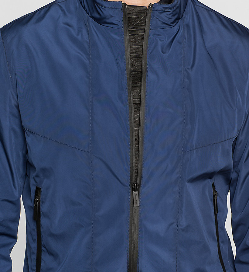 CALVINKLEIN Tech Bomber Jacket - INK BLUE 19-3933 - CALVIN KLEIN CLOTHES - detail image 2