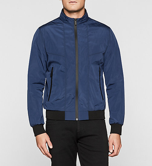 Tech-Bomberjacke - INK BLUE 19-3933 - CALVIN KLEIN  - main image