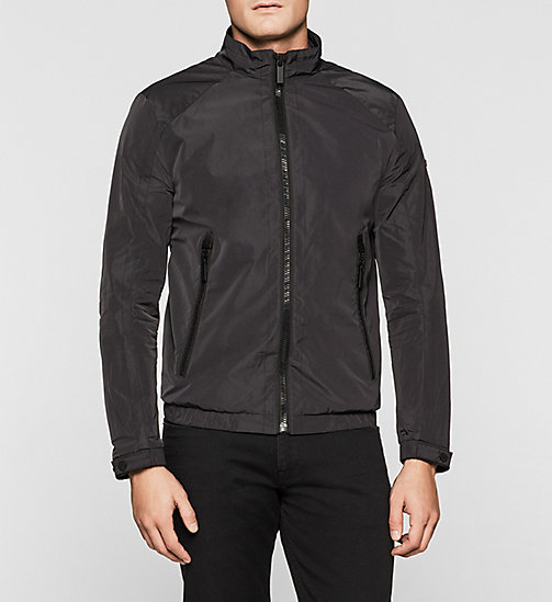 CALVINKLEIN Tech Nylon Jacket - PERFECT BLACK - CALVIN KLEIN OUTERWEAR - main image