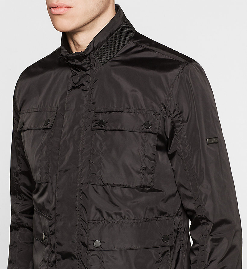 CALVINKLEIN Nylon Field Jacket - PERFECT BLACK - CALVIN KLEIN OUTERWEAR - detail image 2