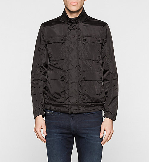 Nylon Field Jacket - PERFECT BLACK - CALVIN KLEIN OUTERWEAR - main image