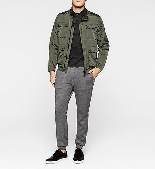 CALVINKLEIN Nylon Field Jacket - DARK OLIVE - CALVIN KLEIN Up to 50% - detail image 1