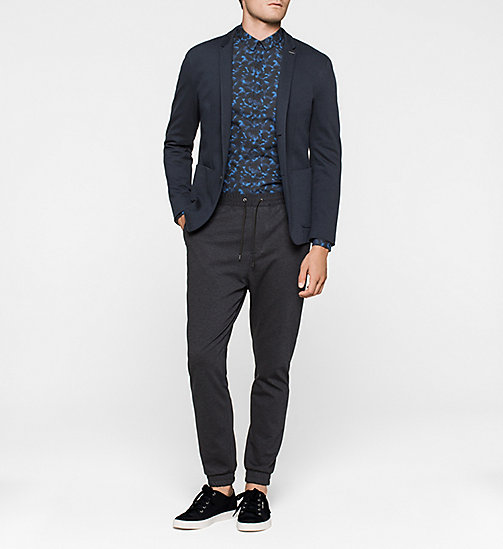Fitted Shirt - MIDNIGHT NAVY - CALVIN KLEIN SHIRTS - detail image 1