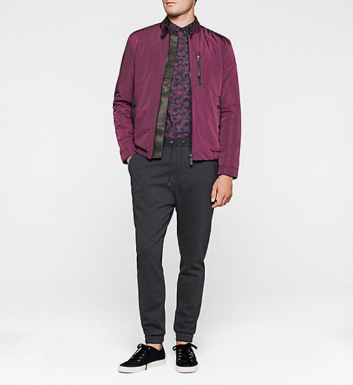 Fitted Shirt - PLUM - CALVIN KLEIN SHIRTS - detail image 1