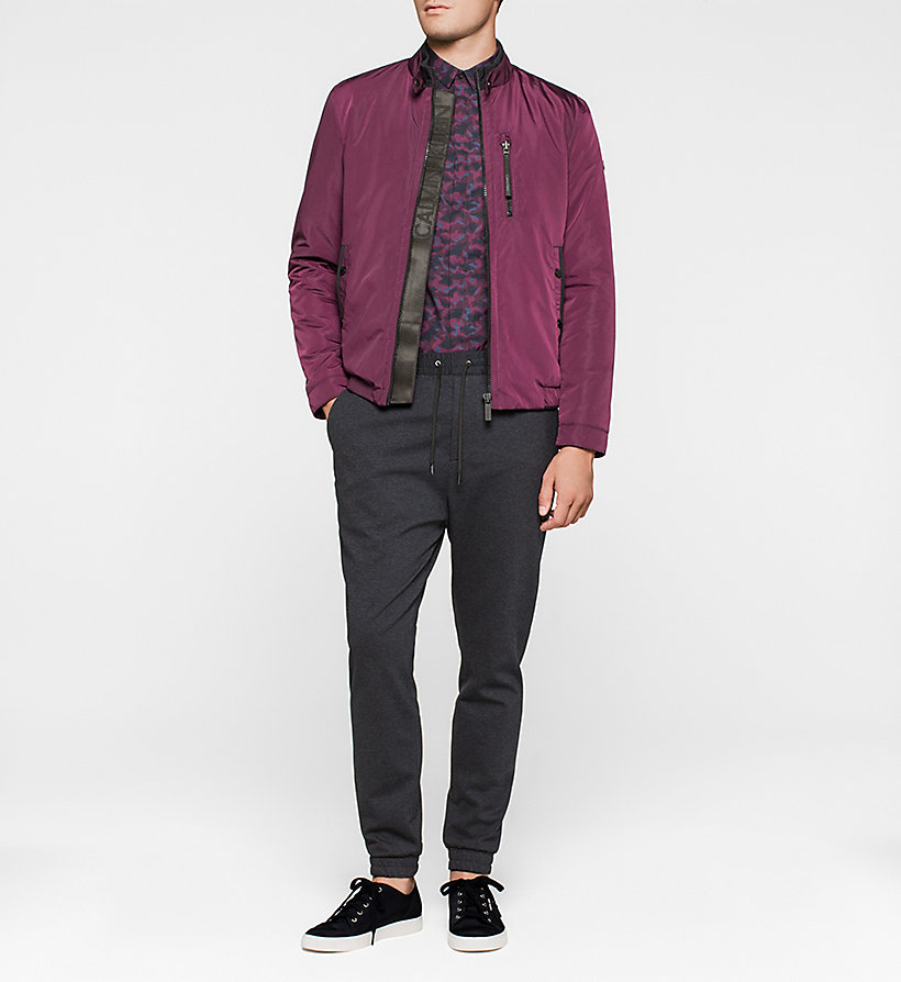 CALVINKLEIN Fitted Shirt - PLUM - CALVIN KLEIN CLOTHES - detail image 1