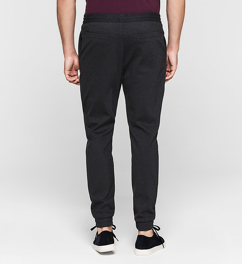 CALVINKLEIN Jersey Trousers - TRUE NAVY - CALVIN KLEIN TROUSERS - detail image 1