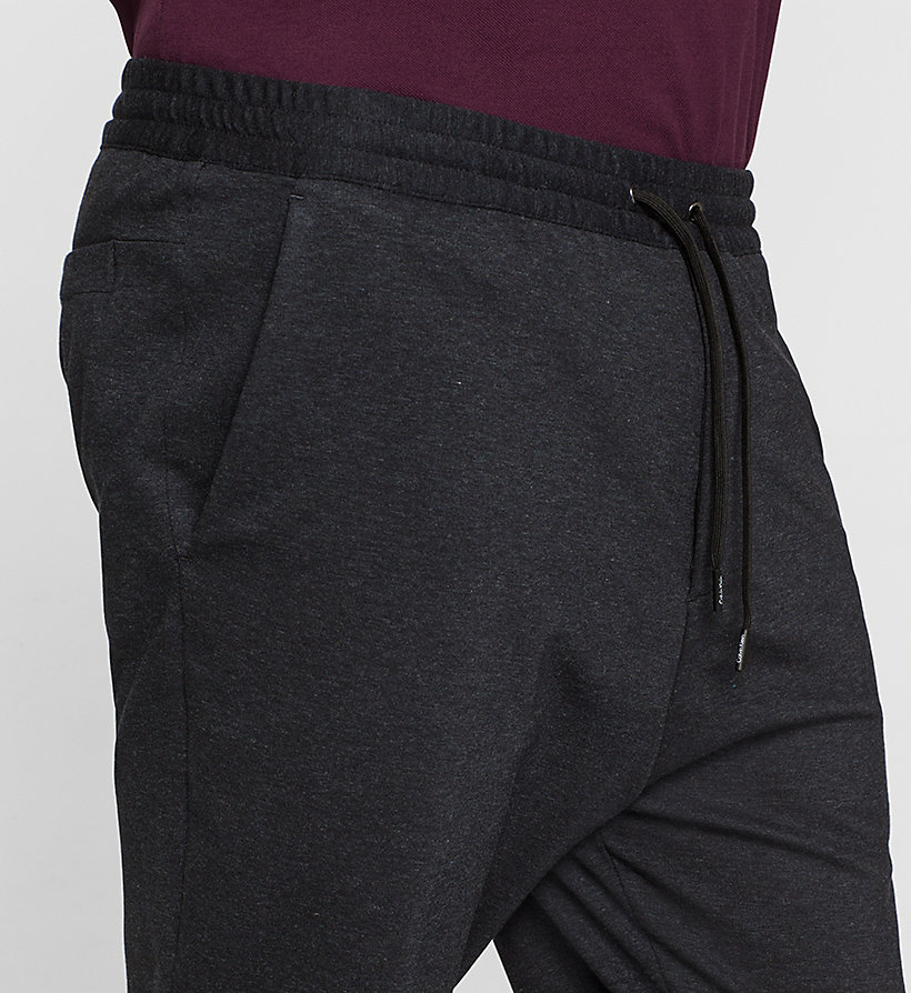 CALVINKLEIN Jersey Trousers - TRUE NAVY - CALVIN KLEIN CLOTHES - detail image 2