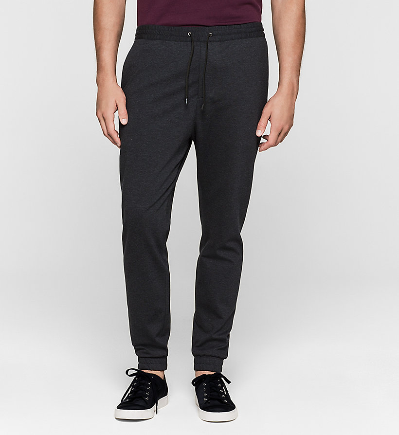 CALVINKLEIN Jersey Trousers - TRUE NAVY - CALVIN KLEIN CLOTHES - main image