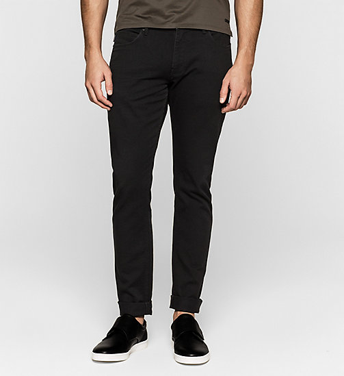 CALVIN KLEIN JEANS Straight Jeans - BLACK RINSE - CALVIN KLEIN JEANS - main image